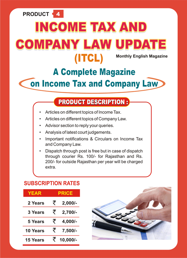 INCOME TAX AND COMPANY LAW UPDATE